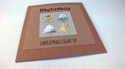 Christmas Light EP - Handmade Sleeve - cover 2